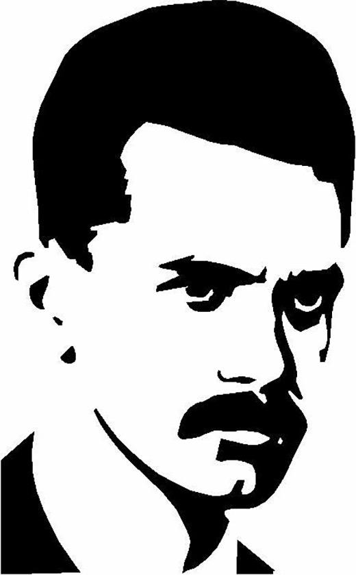 [József Attila portré]