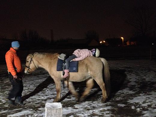 [Fotó a legutóbbi lovasterápiás alkalomról]