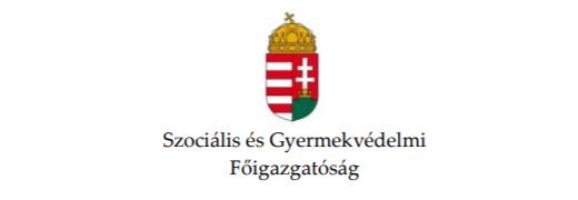 [A Szociális és Gyermekvédelmi Főigazgatóság logója]