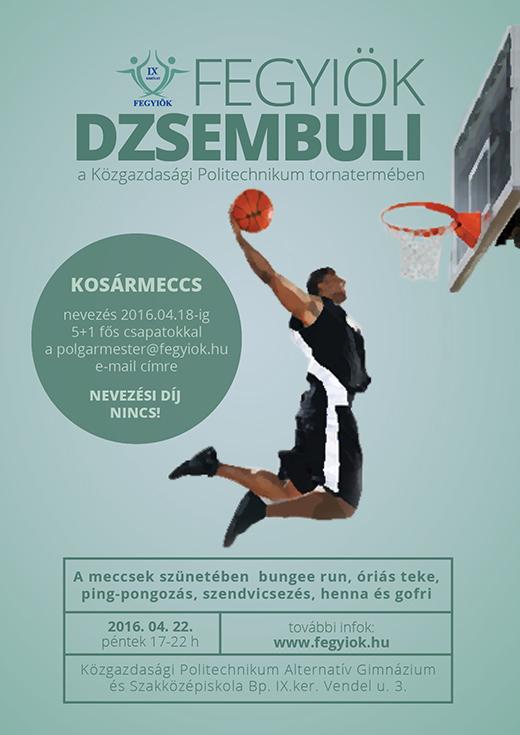 FEGYIÖK Dzsembuli plakát