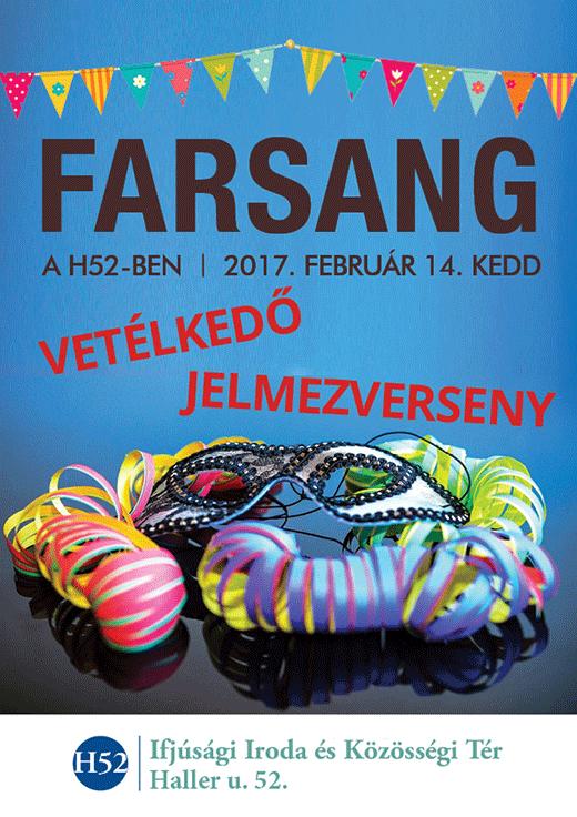 Farsangi plakát