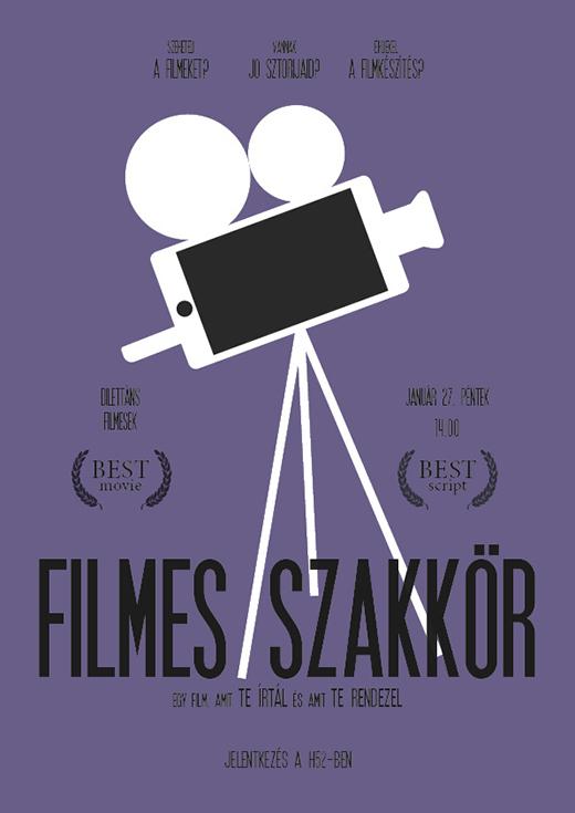 Filmes szakkör plakát